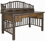 Old Hickory Spoke Replica Desk