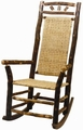 Old Hickory High Back Wagon Wheel Outdoor Rocker