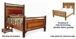 Old Hickory Old Faithful Panel Bed - King