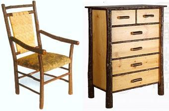 Old Hickory Furniture Items