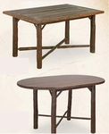 """Old Hickory 36"""" Gathering Table"""