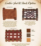Old Hickory Leather Weave