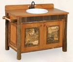 Old Hickory Old Faithful Vanity with Northwoods Accents