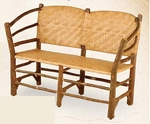 Old Hickory Outdoor Hoop Settee