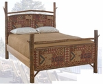 Old Hickory Retreat Bed-Twin