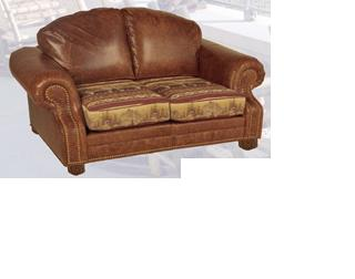 Old Hickory Roosevelt Love Seat