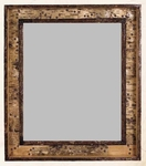 Old Hickory Shadow Box Birch Frame Mirror