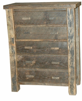 Old Timber 5-Drawer Chest