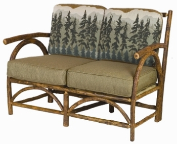 Old Hickory Sun Valley Outdoor Club Love Seat