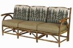 Old Hickory Sun Valley Outdoor Club Sofa