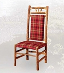 Old Hickory Wagon Wheel High Back Dining Chair