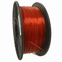 Crystal Series ABS - 3D Filament - 1.75mm - Translucent Red - 1KG