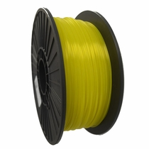 Crystal Series PETG - 3D Filament - 1.75mm - Translucent Yellow - 1KG