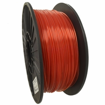 Crystal Series PETG - 3D Filament - 2.85mm - Translucent Red - 1KG