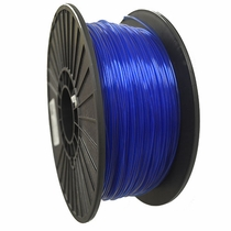 Crystal Series PLA - 3D Filament - 2.85mm - Translucent Blue - 1KG