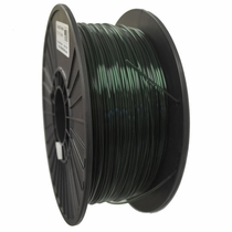 Crystal Series PLA - 3D Filament - 2.85mm - Translucent Green - 1KG
