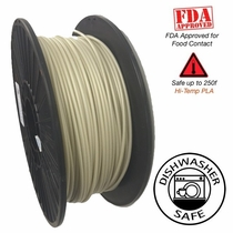 Raptor Series PLA - High Performance 3D Filament  -  Natural - 2.85mm - 1KG