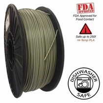 Raptor Series PLA - High Performance 3D Filament  -  Non-Khaki, Khaki - 2.85mm - 1KG