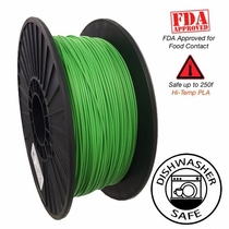 Raptor Series PLA - High Performance 3D Filament - Vivid Green -   1.75mm  -  1KG
