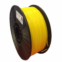 Maker Series ABS - 3D Filament - 1.75mm - Sun Punch Yellow 1kg