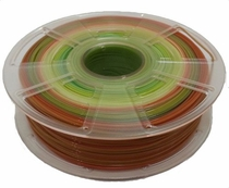 Rainbow PLA 3D Printer Filament - 1.75mm / 1kg