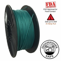 Raptor Series PLA - High Performance 3D Filament- HD Deep Dark Forest - 2.85mm - 1KG