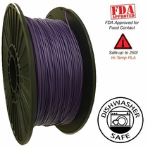 Raptor Series PLA - High Performance 3D Filament- HD Purple -  1.75mm - 1KG
