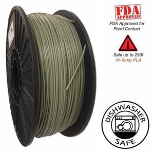 Raptor Series PLA - High Performance 3D Filament - Non-Khaki, Khaki  -   1.75mm  -  1KG