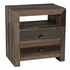 Classic Home Omni Two-Drawer Nightstand
