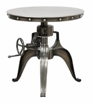 Classic Home Rustic Afton Crank Table