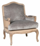 Classic Home Rustic Bianca Club Chair
