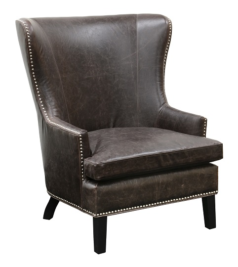 Classic home rustic cordova club chair for Classic home chairs