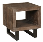 Classic Home Rustic Corsica End Table