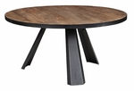 Classic Home Rustic Erikson Round Dining Table