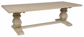 Classic Home Rustic Essex Dining Table