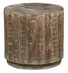 Classic Home Rustic Laurel End Table