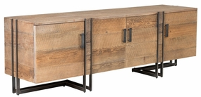Classic Home Rustic Marcelo Four-Door TV Stand