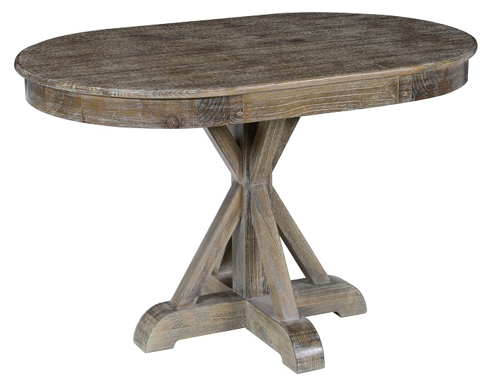 classic home rustic maxwell oval dining table. Black Bedroom Furniture Sets. Home Design Ideas
