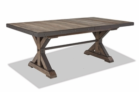 Intercon Rustic Taos Trestle Table