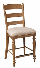 Lake House Ladder Back Bar Stool