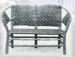 No. 120 Vintage Two-Seat Settee
