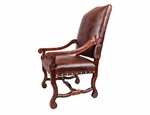 Old Tannery Monastery Arm Chair