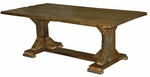 Old Timber Trestle Table