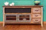 "Rustic Antique 62"" TV Stand"