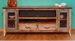 "Rustic Antique 76"" TV Stand"