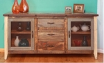 Rustic Antique Multicolor Buffet