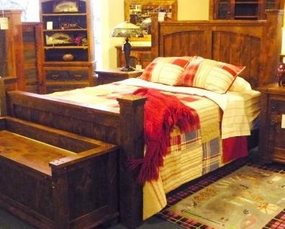 Rustic Autumn Bed