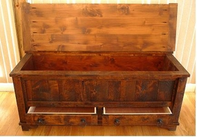 Rustic Autumn Hope/Toy Chest