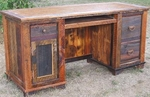 Rustic Country Computer Desk