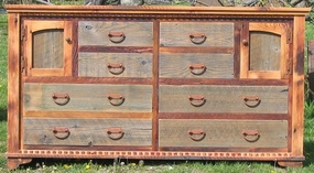 Rustic Country Dresser